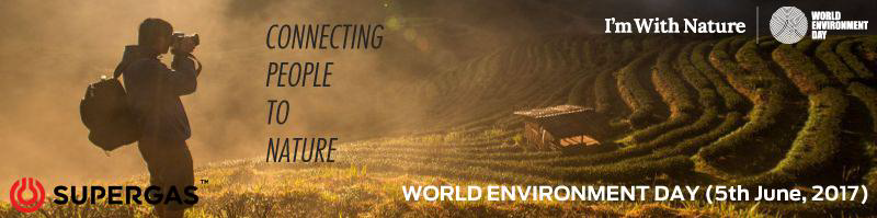 SUPERGAS world environment day celebrations 2017