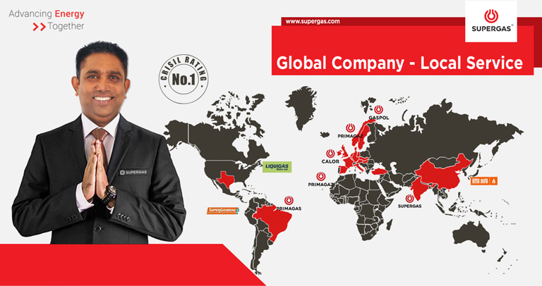 SUPERGAS - Global Company, Local Service