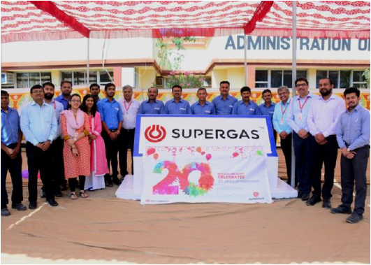 SUPERGAS Bavla Filling Plant turns 20