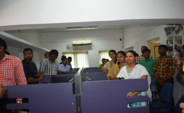 SGF team Support to Speech & Hearing impaired skill trainees