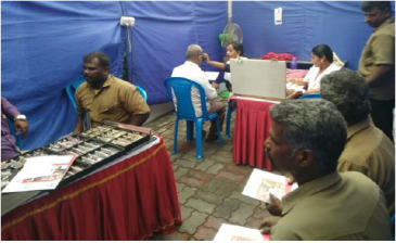 Health Camp at SUPERGAS's Chennai Auto LPG Station