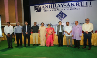 International Day of Persons with Disabilities at 'Ashray Akruti'