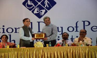 Ashray Akruti Best CSR Partner Award to SUPERGAS